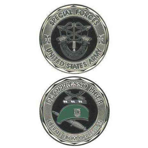 u s army special forces challenge coin