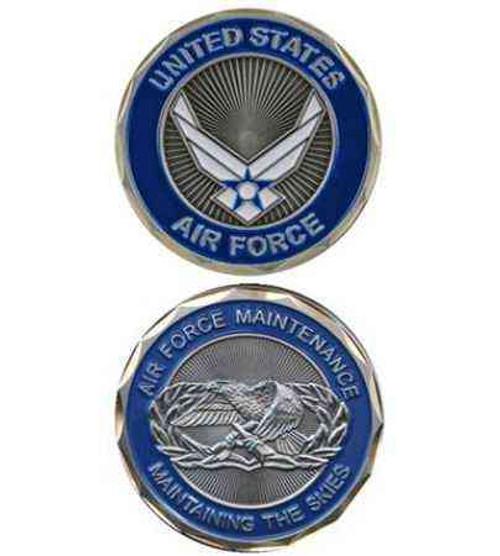 u s air force maintenance challenge coin