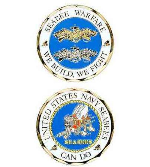u s navy seabee warfare challenge coin