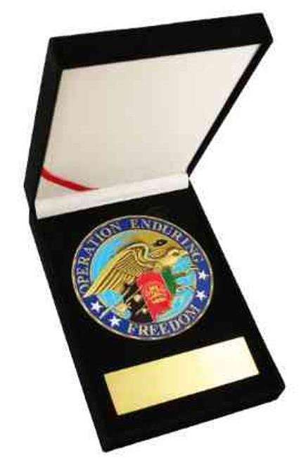 oef eagle medallion challenge coin
