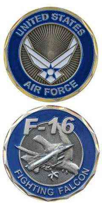 air force f16 challenge coin