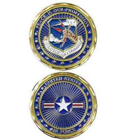 u s air force strategic air command challenge coin