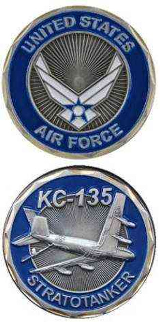 u s air force kc135 challenge coin