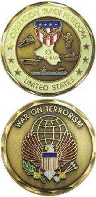 operation iraqi freedom challenge coin