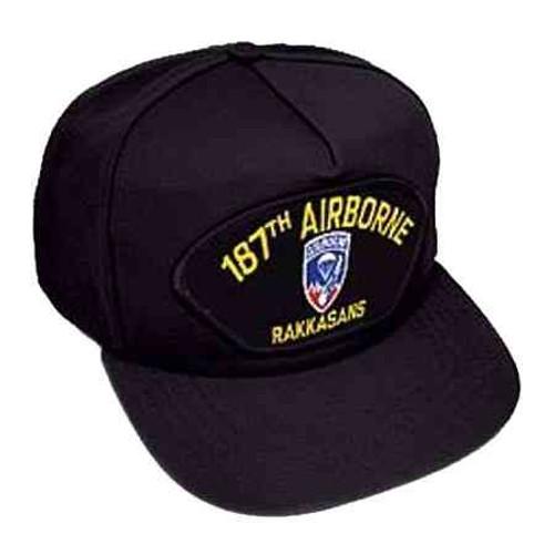 187th airborne div hat