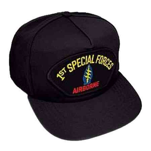 1st special forces airborne hat 5 panel