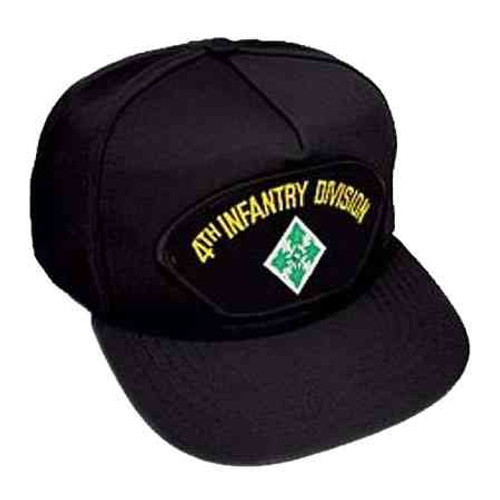 army 4th infantry division hat