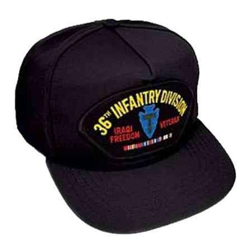 iraq 36th inf veteran hat
