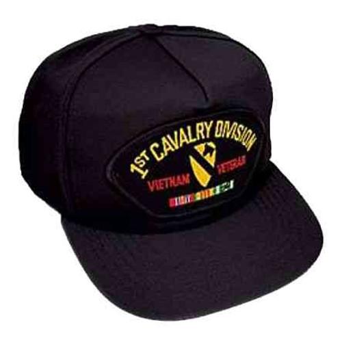 vietnam 1st cav veteran hat 5 panel