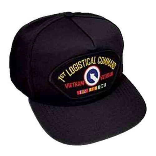 vietnam 1st log cmd veteran hat 5 panel