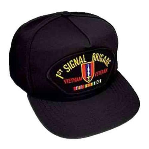 vietnam 1st sig bde veteran hat 5 panel