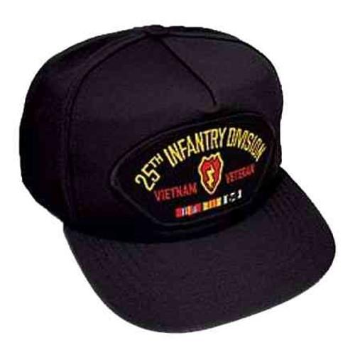 vietnam 25th inf veteran hat 5 panel