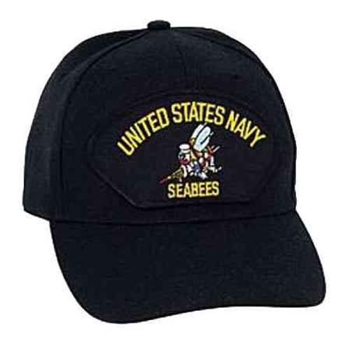 u s navy seabees hat 6 panel