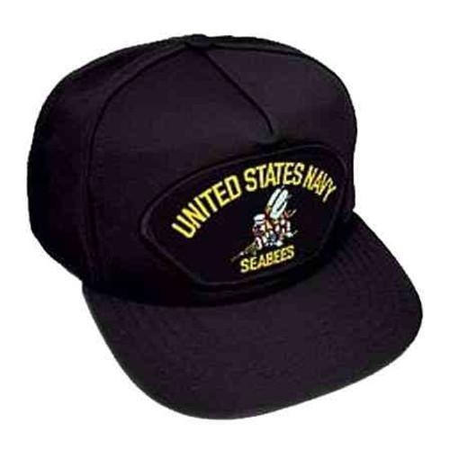 u s navy seabees hat 5 panel