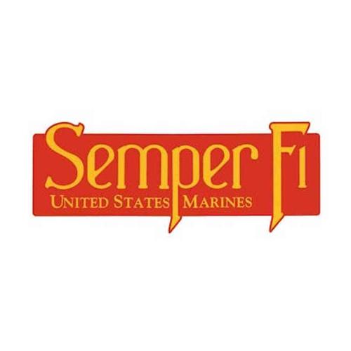 usmc semper fi bumper sticker