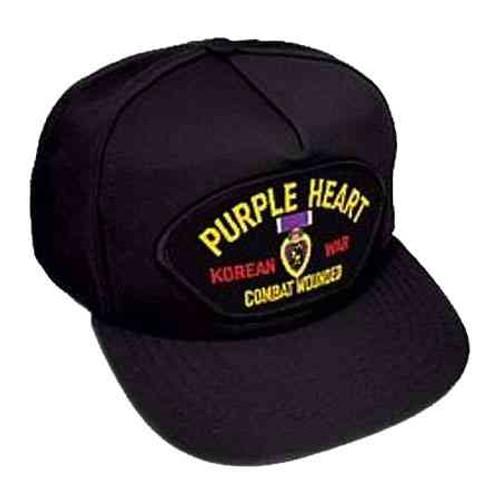 korea purple heart hat