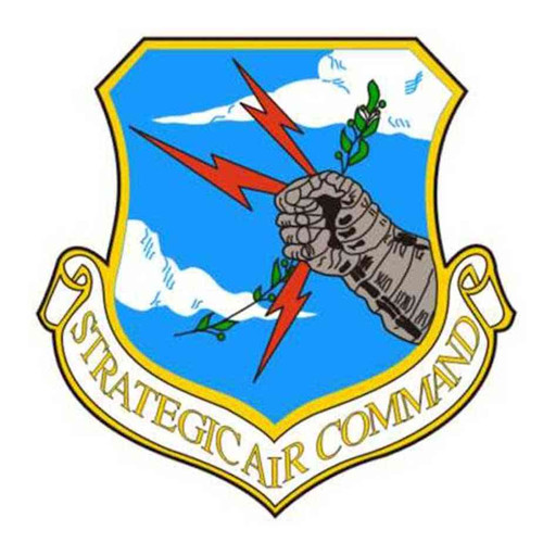 strategic air command logo decal sticker