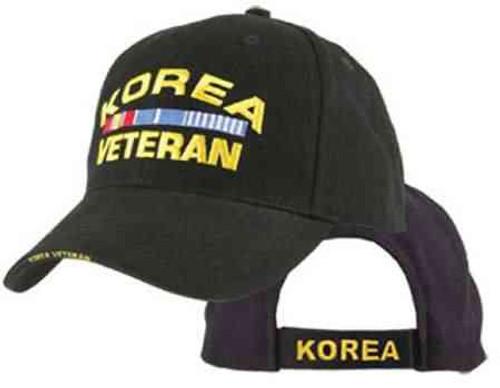 korea veteran w ribbons hat