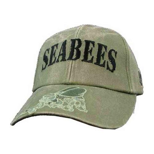 u s navy seabees o d hat