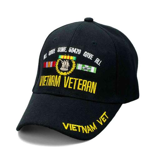 vietnam veteran all gave some 58479 gave all hat velcro adjustable