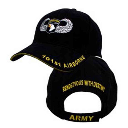 army 101st airborne division jump wings hat rendezvous destiny hat