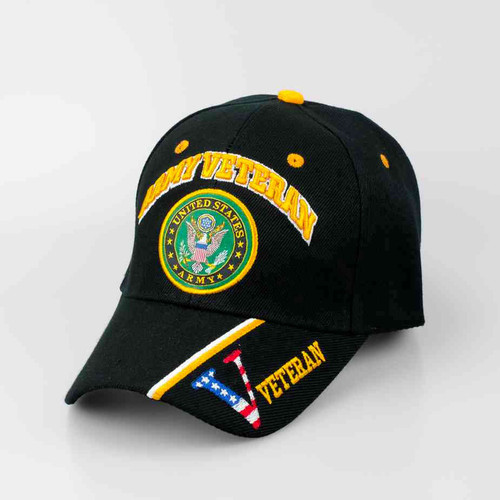us army veteran hat seal