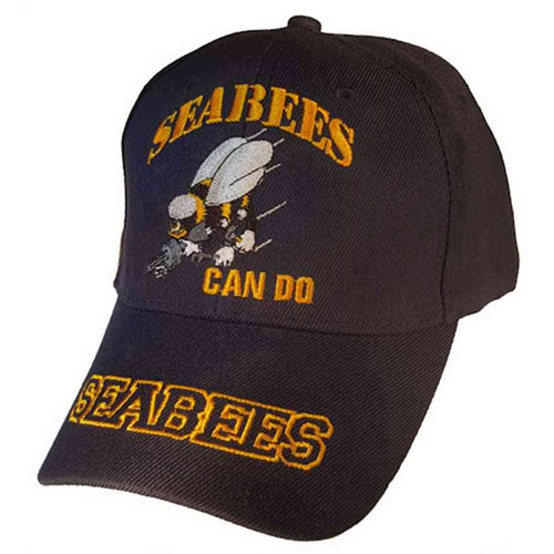 navy seabees can do hat