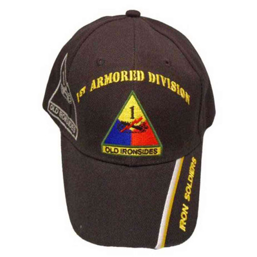 army 1st armored division iron soldiers hat