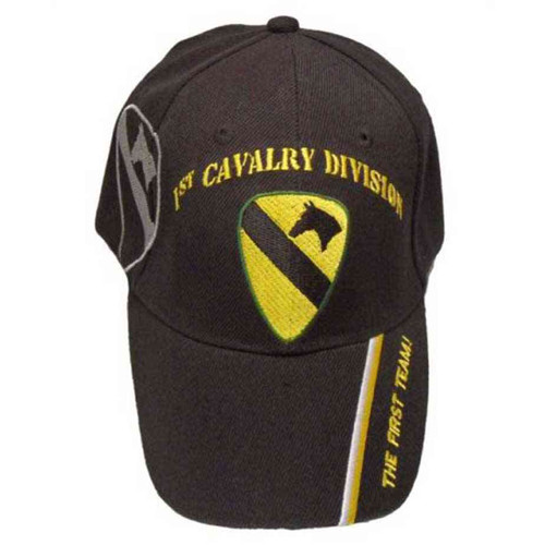 army 1st cavalry division first team hat