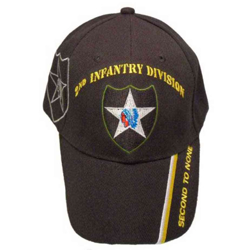 army 2nd infantry division second to none hat
