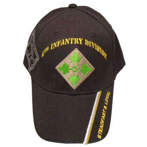 army 4th infantry division steadfast loyal hat