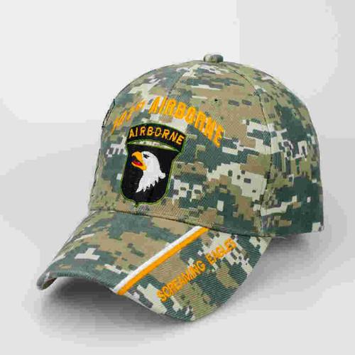 101st airborne division digital camo cap