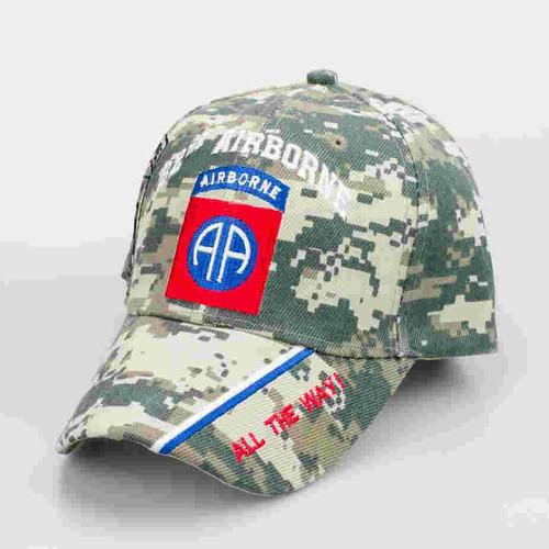 82nd airborne division digital camo cap