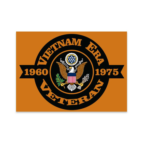 vietnam era veteran decal sticker