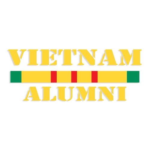 vietnam alumni decal sticker service ribbon