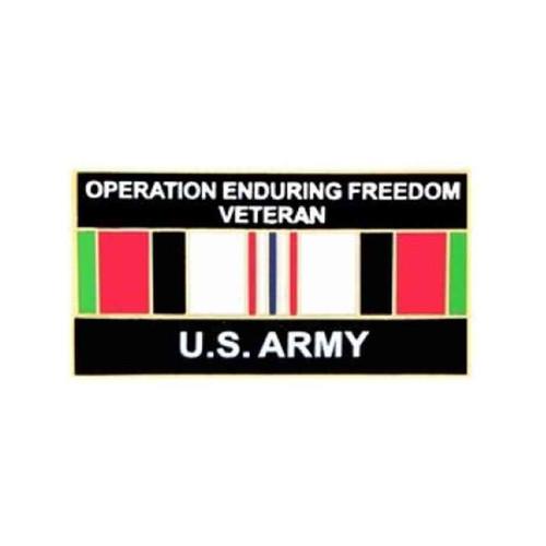 afghanistan oef army veteran pin