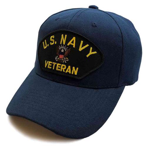 u s navy veteran special edition blue hat