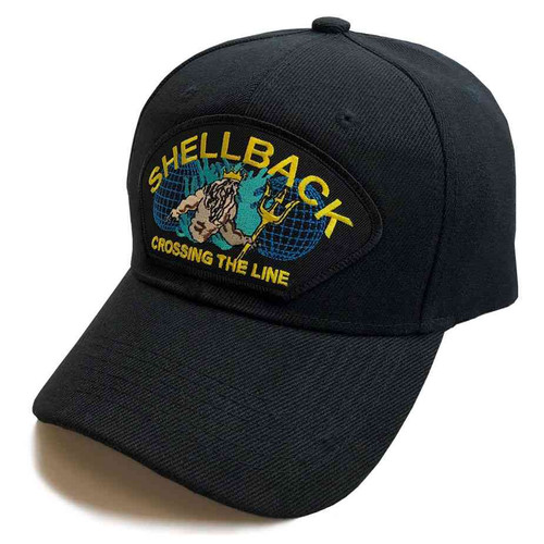 navy shellback crossing line special edition hat