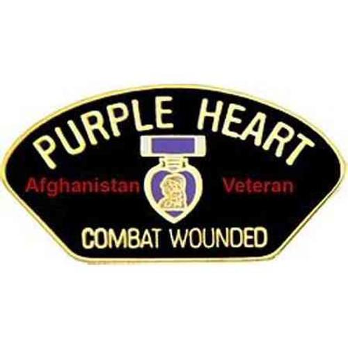 purple heart afghanistan pin