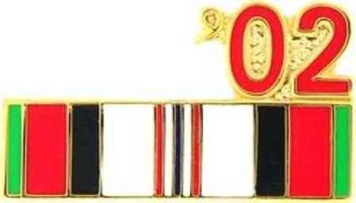 2002 afghanistan hat lapel pin