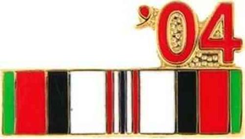 2004 afghanistan hat lapel pin