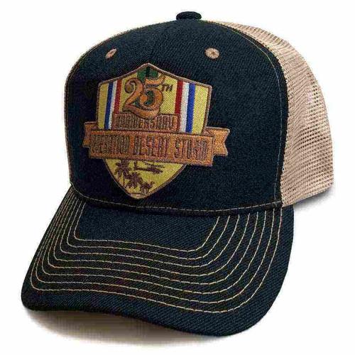desert storm 25th anniversary custom edition hat