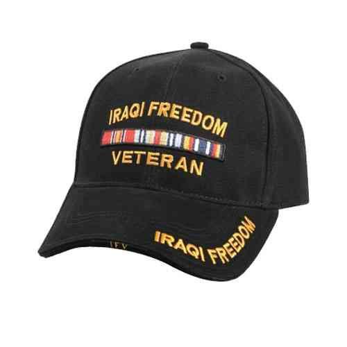 classic iraqi freedom veteran hat
