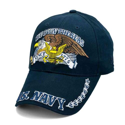 officially licensed u s navy 1775 we own seas hat