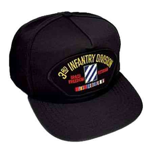 army 3rd infantry division iraq veteran hat