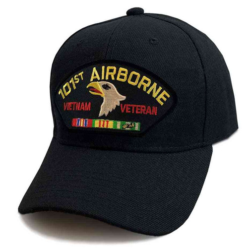 us army vietnam 101st airborne div veteran hat 6 panel