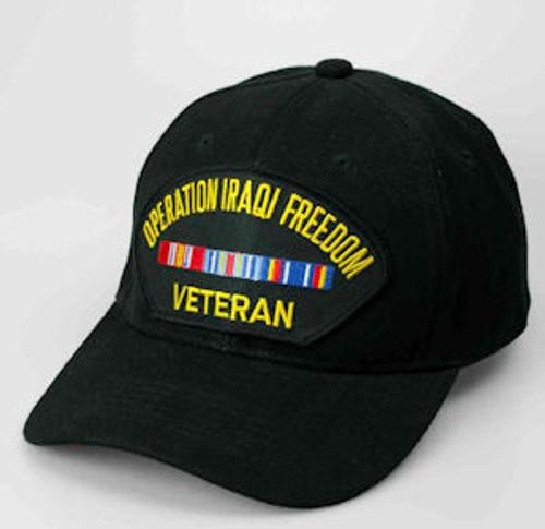 operation iraqi freedom veteran hat 6 panel
