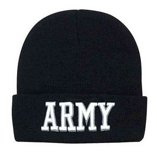 army deluxe embroidered watch cap