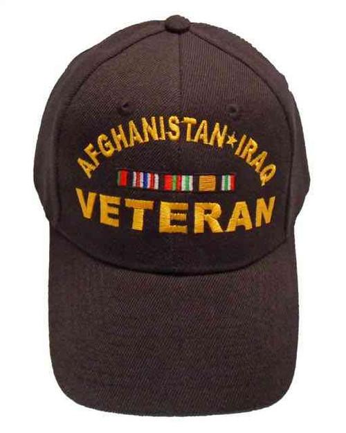 afghanistan iraq veteran ribbon hat