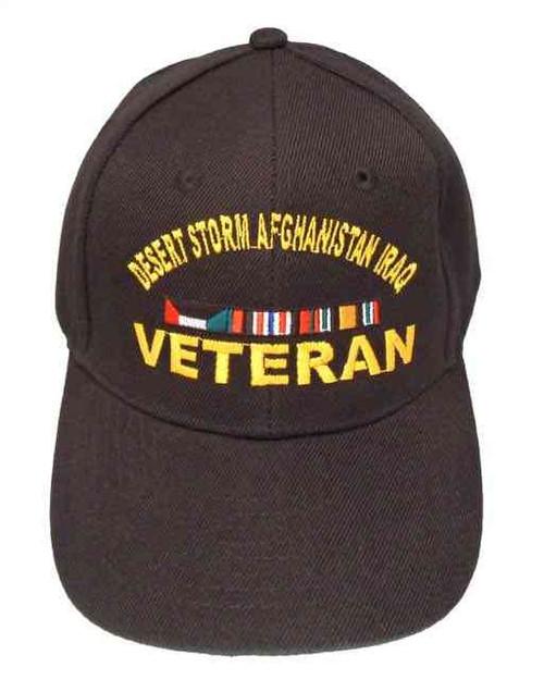 desert storm afghanistan iraq veteran ribbon hat